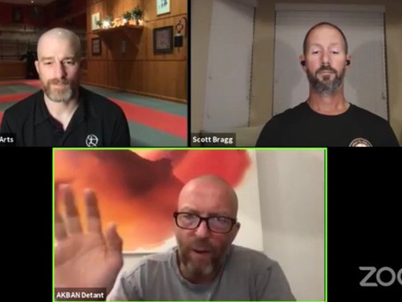 Facebook live interview, BUJINKAN and AKBAN with Yossi Sheriff