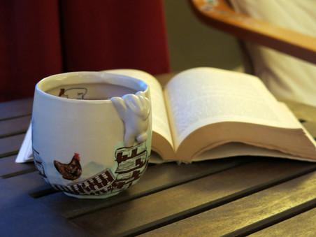 "Cup, ""Sor Juana Ines de la Cruz"""