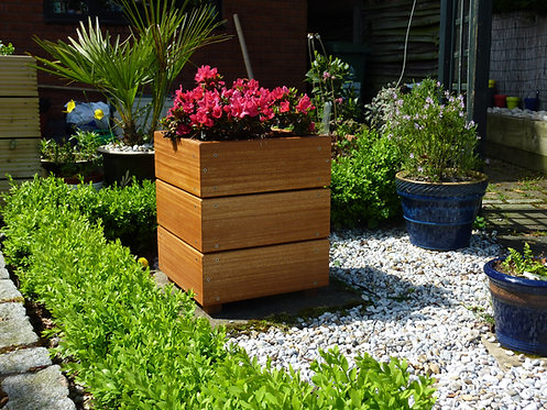 Yellow Balau Hardwood Box Planter