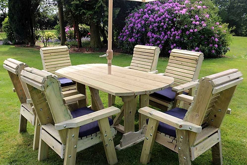 6 seater table and chair set
