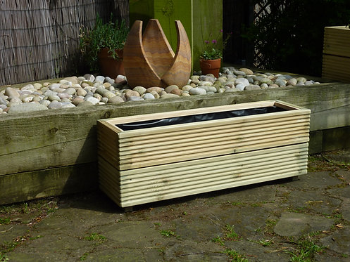 Medium Trough Planter - double tier