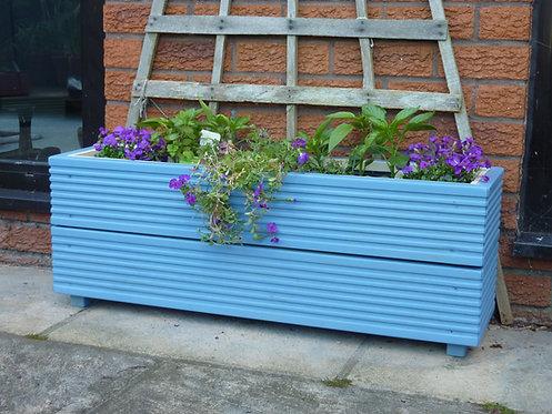 Long Trough Planter - double tier