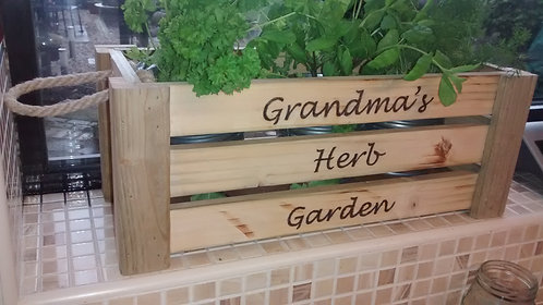 Kitchen Herb Box - Variety of styles