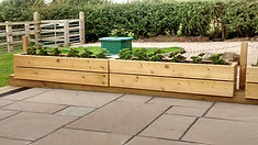 Harefield Woodcraft Bespoke Benches Planters Furniture Liverpool