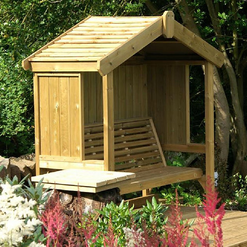 3 seater cottage arbour