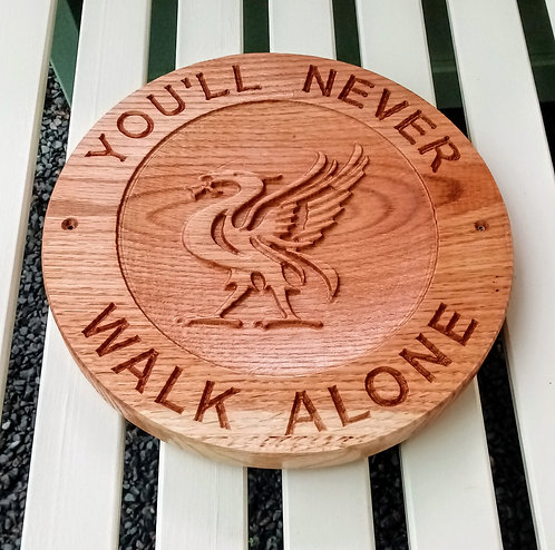 Oak Liver bird dish plaque