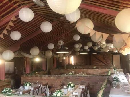 Donnington Park Farmhouse Wedding