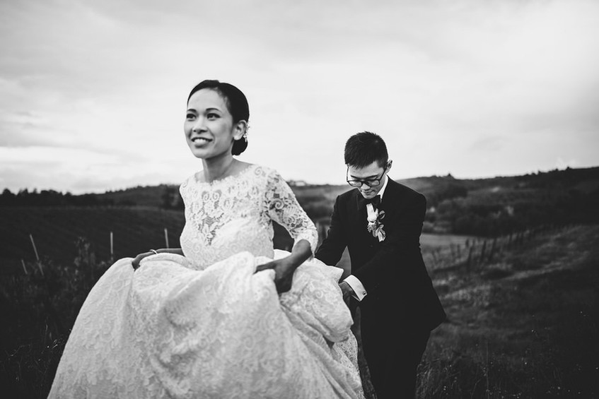 servizi fotografici per matrimonio Tosca