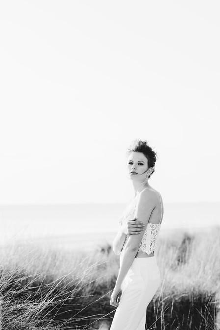 servizio fotografico in spiaggia