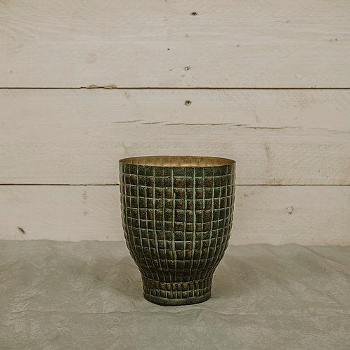 Vaso Metal Verde