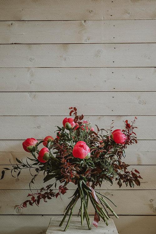 Bouquet  del mese - Peonia