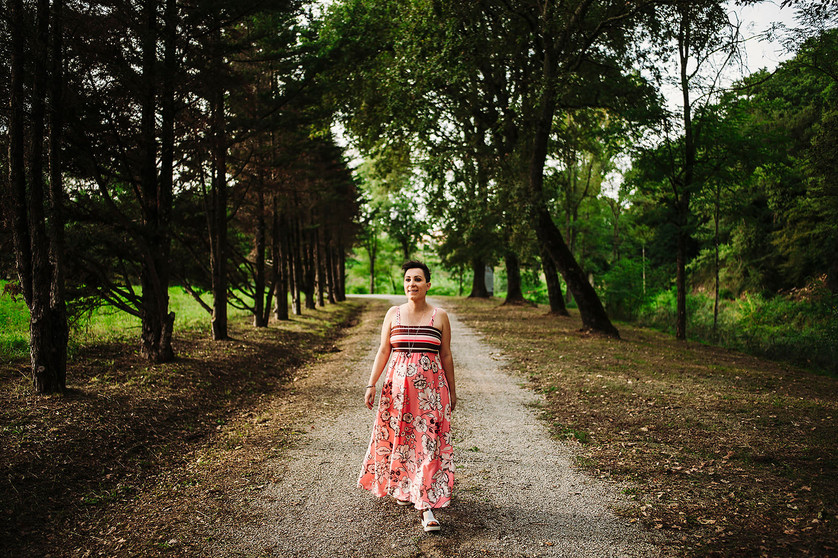 servizio fotografico donna in maternità