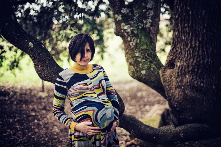 fotografico di gravidanza bucine