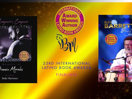 'Ray Barretto Giant Force' y 'A Conguero's Conguero' finalistas en los Latino Book Awards 2021