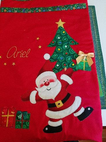 Dancing Santa - Santa Sack
