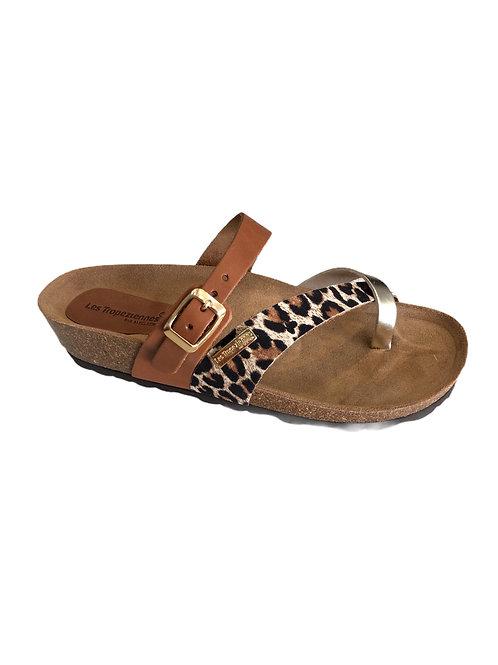PAPILLON  coul : tan/léopard