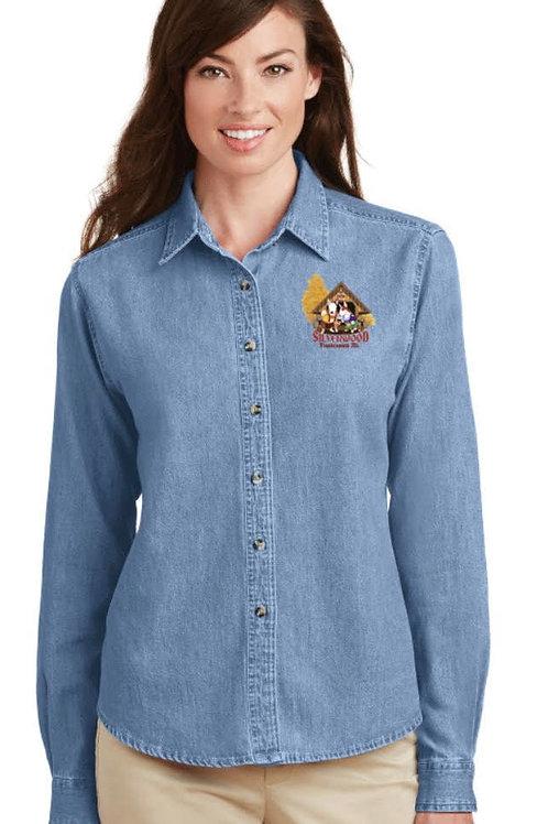 Women's Port Long Sleeve Denim Shirt