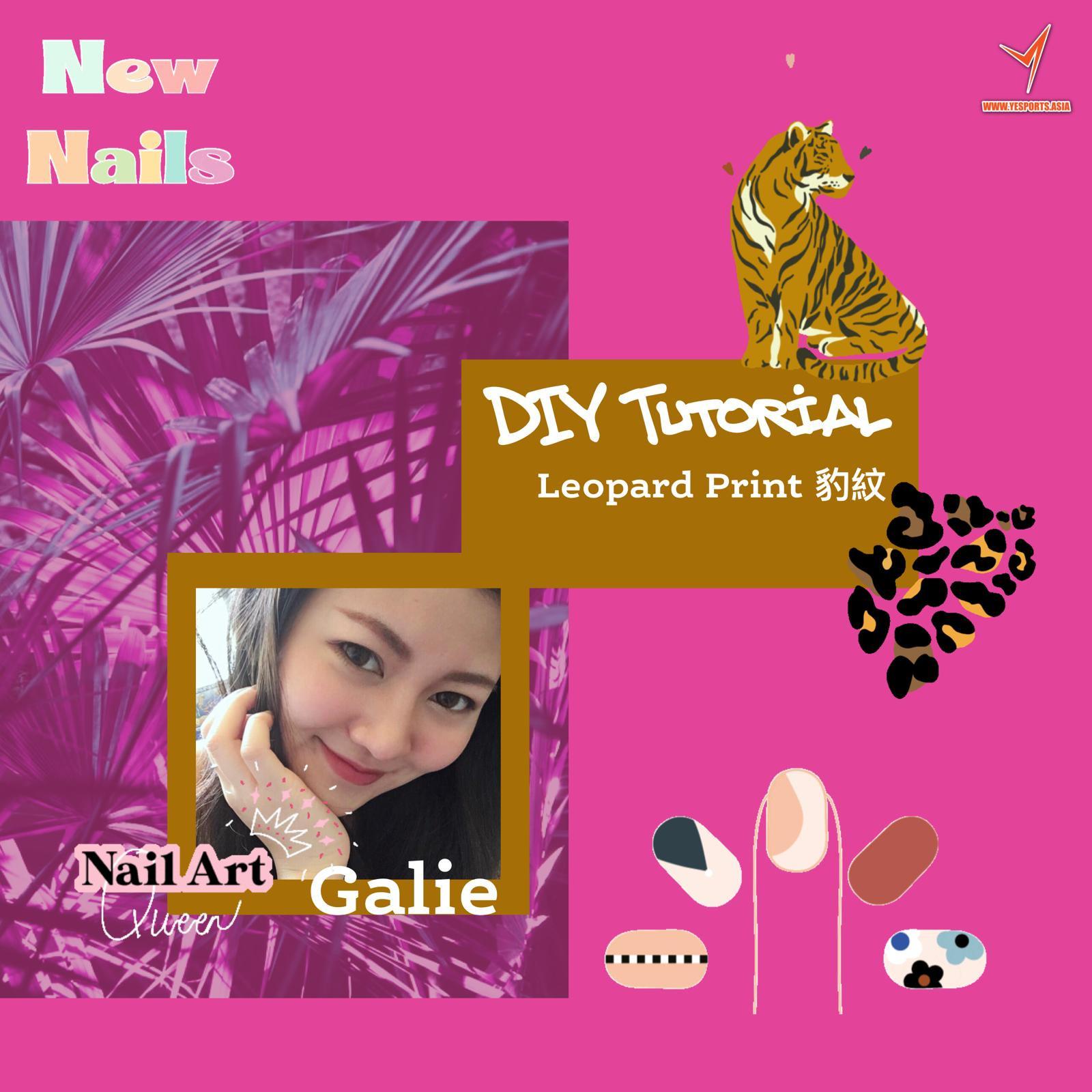 Nail Art - DIY leopard print nails