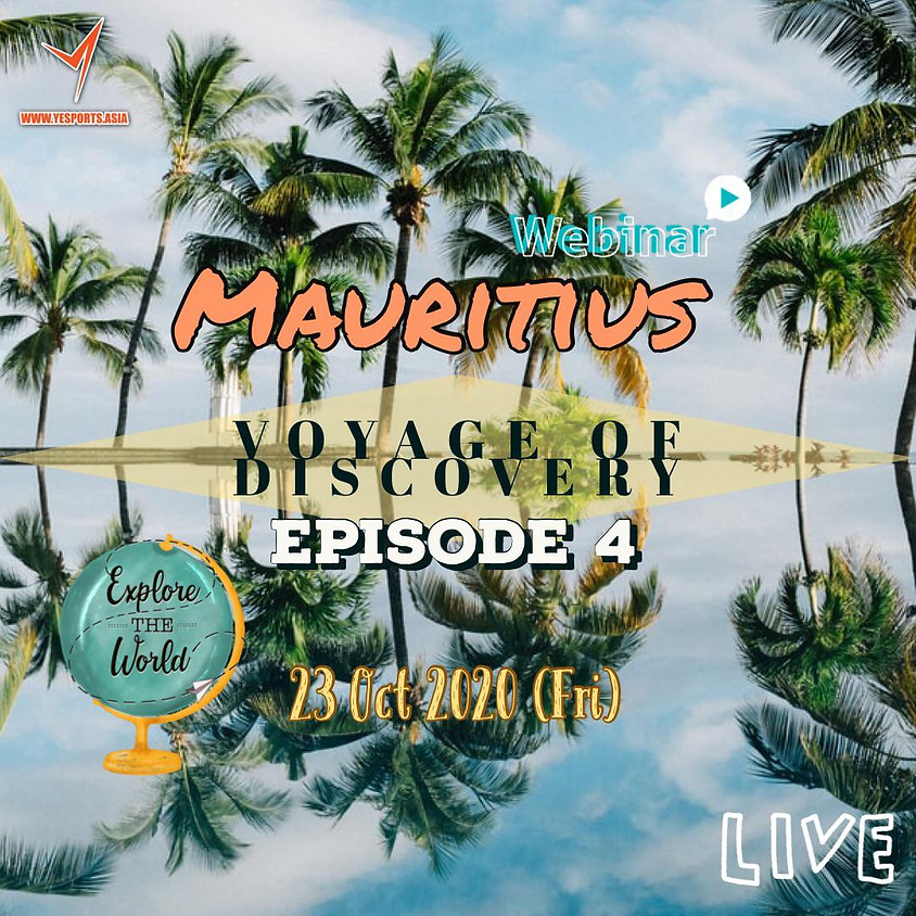 Yesports Webinar - Voyage of Discovery - Mauritius