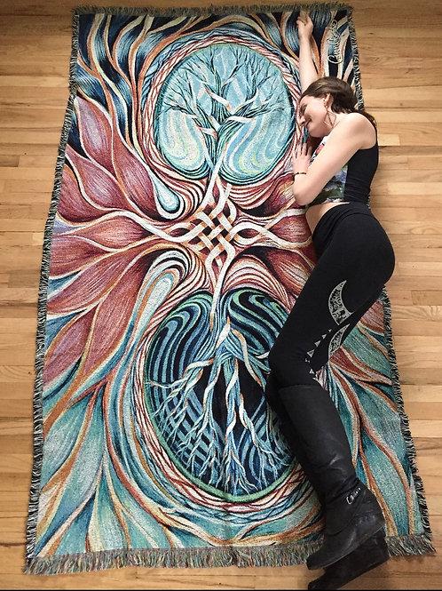 Eternal Bloom Blanket
