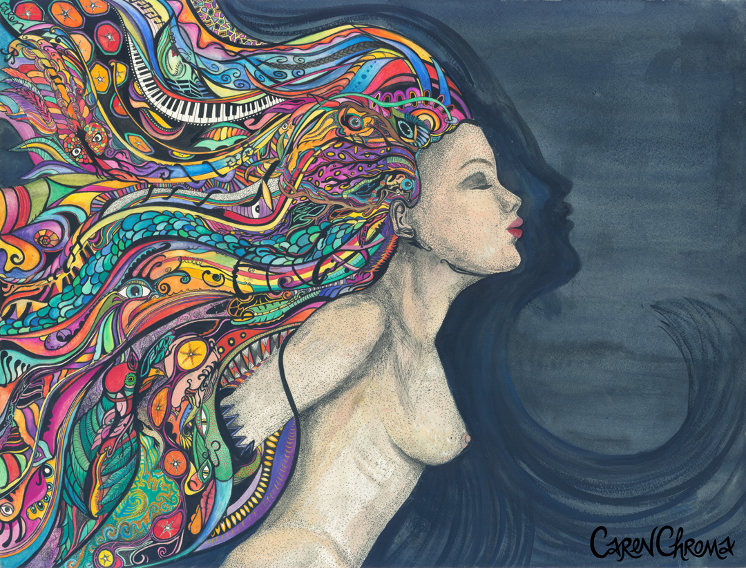Flowing Lady