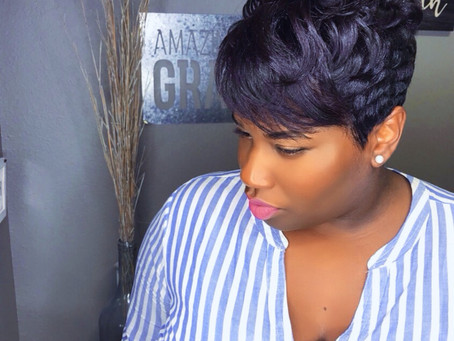 Short Pixie Hair Cuts for Black Women 2018