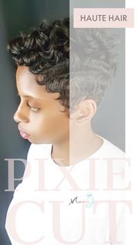 SHORT HAIR CUT WITH FINGERWAVES