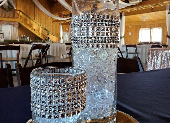 12in Cylinder Vase