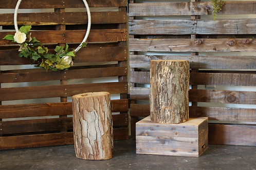 Large Log for Florals