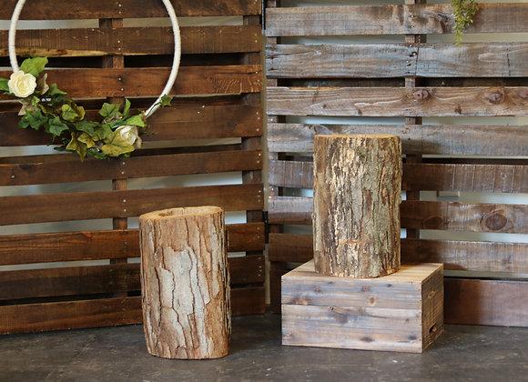 Large Log for Florals