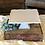 Thumbnail: Flat Square White Glass Cake Stand