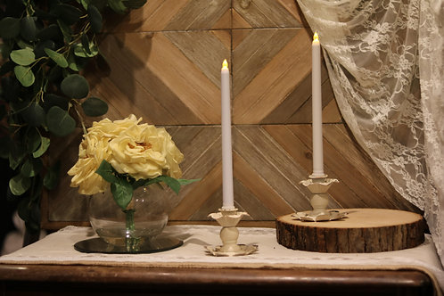 Small Flower Candle Holder