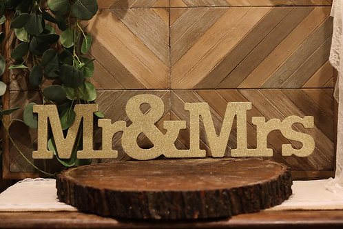 Mr & Mrs Gold