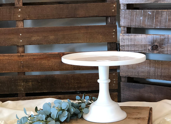 Large White Cake Stand