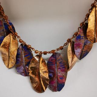 Collar Hojas de Metal (JOYAS DE ARICA)
