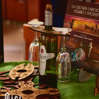 Portacopas de Vino con Iconografía (QIRI)