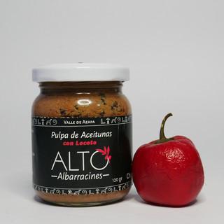 Pulpa de Aceitunas con Locoto (ALTO ALBARRACINES)
