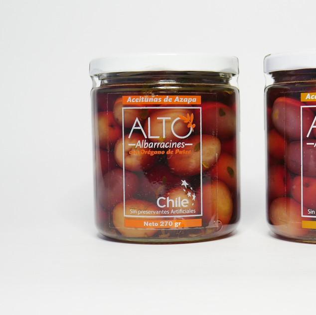 Aceitunas Saborizadas (ALTO ALBARRACINES)