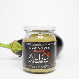 Pasta de Berenjena al Natural (ALTO ALBARRACINES)