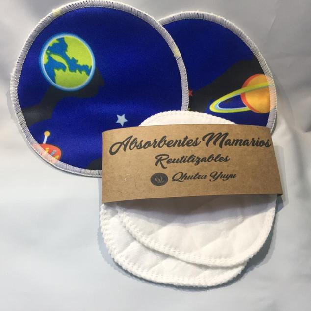 Absorbentes Mamarios Reutilizables (QHUTRA YUYU)