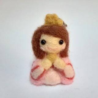Llavero de Princesa Japonesa (SHOP OF THE CEREZO)
