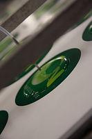 dome resine sur supports imprimés