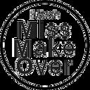 MissMakeOver transparante stempel zwart.