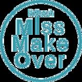 MissMakeOver transparante stempel blauw.