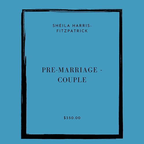 PRE-MARRIAGE - COUPLE