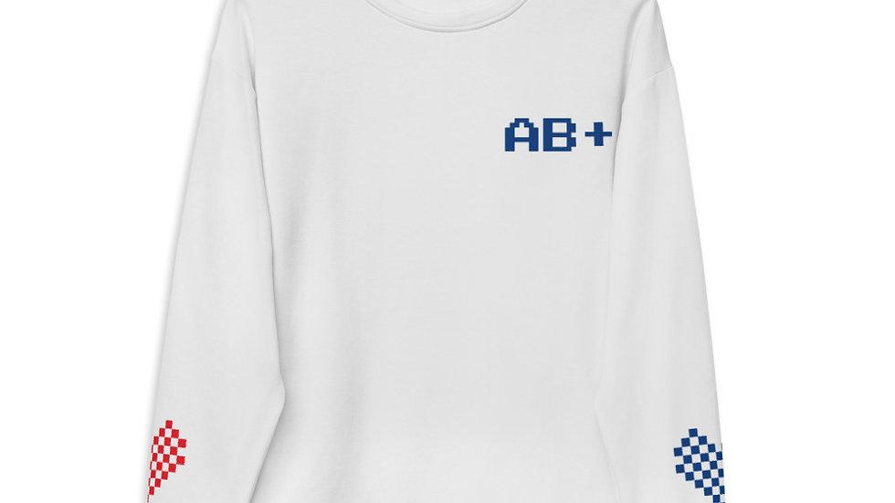 AB+ Give #Blood4All Unisex Sweatshirt