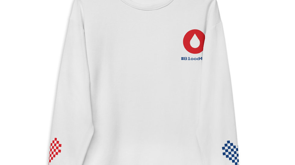 Give #Blood4All Unisex Sweatshirt