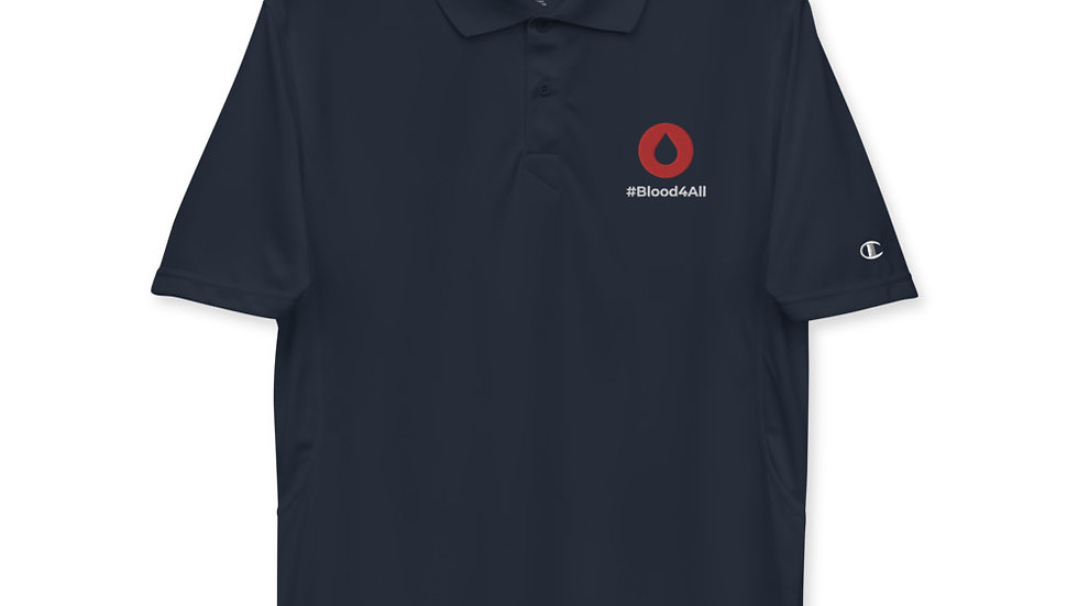 Blood4all Men's Champion performance polo