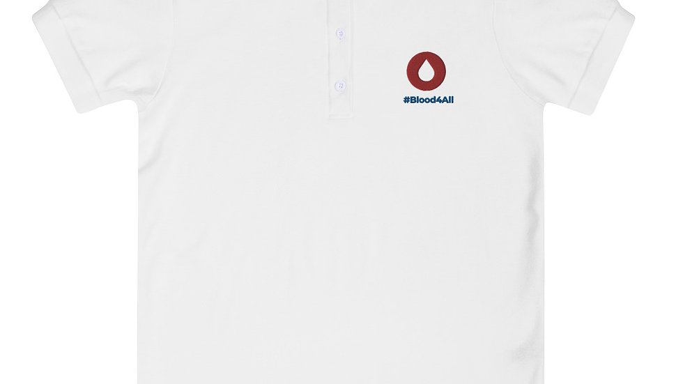 Blood4All - Women Polo Limited Edition