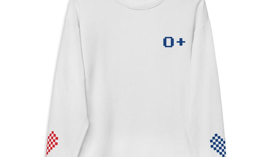 O+ Give #Blood4All Unisex Sweatshirt